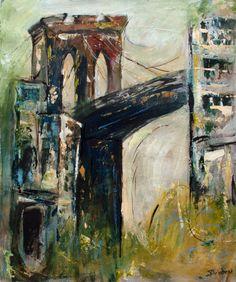 Artique   Misty Brooklyn Bridge   Sharon Sieben