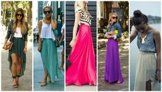 confortable maxi skirts