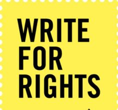 #WriteForRights #AmnestyInternational