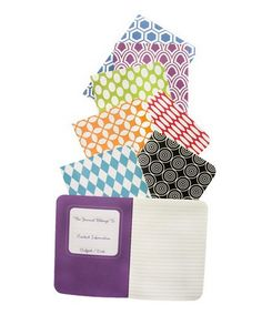 Love these mini pocket journals, The set of 8 is priced so nicely too.