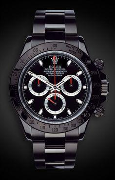— Titan Black Rolex Daytona Stealth