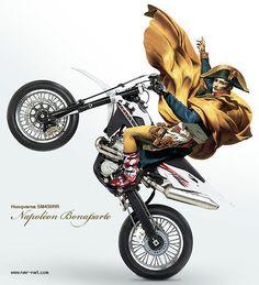 NapoleonBonaparte+SM450RR | ///NMR Blog///日本メット連合[Nihon Metto Rengo]モタード&モトクロス///