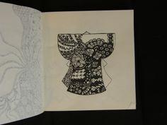 Zentangle Kimono