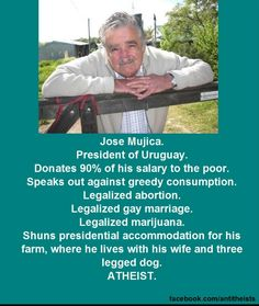 Jose Mujica. Uruguay President