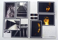 AS Photography Sketchbook, Perspectives Shoot, Thomas Rotherham College, 2014