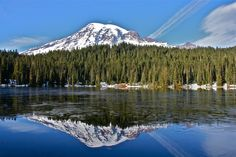 America's Top Six Most Popular National Parks in 2014 (Reflection Lake, Mount Rainier National Park)