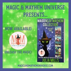 Check out Maidens Of Mayhem Collection – Volume Three by the amazing Julia Mills today! Now Available! #MagicMayhemUniverse #ebook #pnr #UnleashTheMagic #newrelease New York Times, Bestselling Author, Universe, Presents, Magic, Amazing, Check, Collection, Gifts