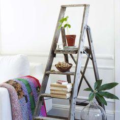 Ideas para decorar con una escalera tu casa http://ini.es/2qBO8r0 #Decoración, #DecorarConEscaleras, #Escalera, #IdeasParaDecorar, #Muebles, #Personalizar, #Reciclaje