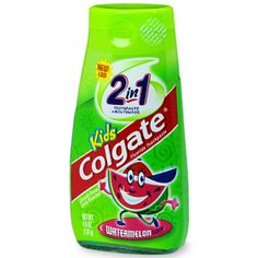 I'm learning all about Colgate Children's 2 in 1 Toothpaste and Mouthwash at @Influenster! @Colgate