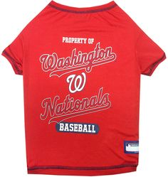 Washington Nationals Dog Tee Shirt