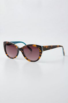 Color-Backed Betty Sunglasses   anthropologie