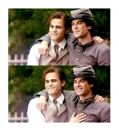 the salvatore brothers /1864/ - damon-and-stefan-salvatore Photo
