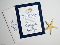 Unique Nautical Save the Dates - Custom Save the Date - Watercolor Boat Save the Date Cards on Etsy, $1.95