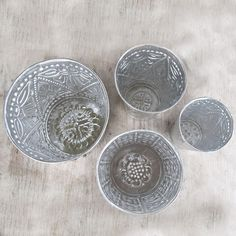STARRY NIGHT | Tin Pot Set of 4 | Plant Life | Bohemian Luxe Homewares | dosombre.com