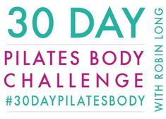FREE 30-Day Pilates Body Challenge! 30 days. 10 minutes per day. No equipment necessary. All videos on YouTube!