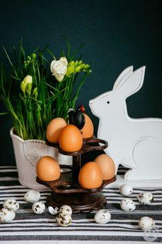 velikonočna dekoracija z zajčkom