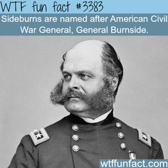 Why are they called Sideburns? - WTF fun facts