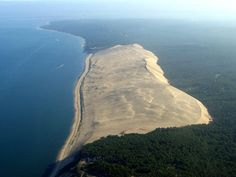 Pyla, France, the biggest sand dune in Europe