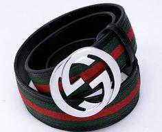 46c14a446a9 Gucci Designer Men Leather Belt www.