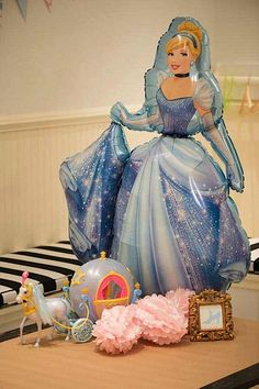 Kara's Party Ideas Cinderella Princess Girl Disney 4th Birthday Party Planning Ideas