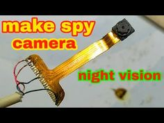 How to make spy camera at home/from old mobile phone camera Electronics Mini Projects, Electronic Circuit Projects, Kids Electronics, Electrical Projects, Piratear Wifi, Technology Hacks, Medical Technology, Energy Technology, Wireless Spy Camera