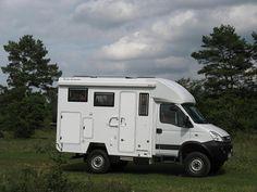 IVECO Daily Autark 4x4 Off Road Camper, Truck Camper, Camper Van Conversion Diy, Expedition Vehicle, Offroad, Recreational Vehicles, Trucks, Caravan, Off Road