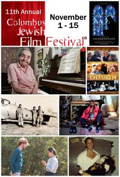 The 2015 Columbus Jewish Film Festival runs Sunday, Nov. through Nov. 12 at the Jewish Community Center of Greater Columbus, 1125 College Ave., and the Drexel Theatre, 2254 E. Jewish Film Festival, Judaism, Arts And Entertainment, Theatre, Sunday, College, Community, Entertaining, News