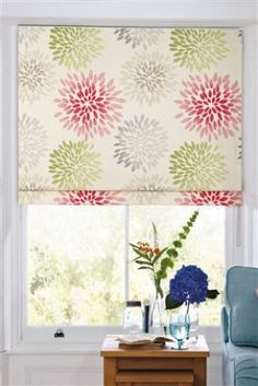 Buy Pink Bloom Floral Roman Blind from the Next UK online shop
