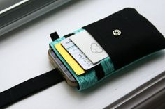 iPhone wallet / iPhone Sleeve / iPhone Case / by chubbycloud, $21.00
