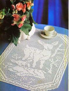 Kira scheme crochet: Scheme crochet no. 100