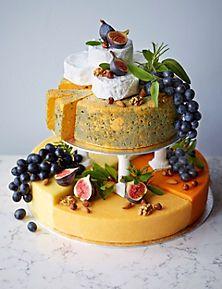 Alternative wedding cake - Cheese Celebration Cake by Marks & Spencer