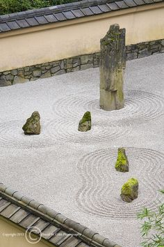 japanese garden Sand and Stone Garden. Gardens of raked sand (or gravel) and stone are referred to as karesansui (literally, dry landscape) gardens. This style was developed in Japan in the later Kamakura period (Photo by David Cobb) Portland Garden, Portland Japanese Garden, Japanese Garden Design, Modern Garden Design, Gravel Garden, Garden Stones, Garden Landscaping, Japanese Sand Garden, Japanese Gardens