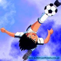 Oliver Atom, supercampeones. Captain Tsubasa, Detective Conan Wallpapers, New Champion, Kuroko, Pulp Fiction, Football, Childhood Memories, Graffiti, Nostalgia