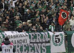 Striscione per Gabriele ultras Ferencvaros, 11-11-2012