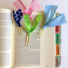 CUTE ribbon clips - use them in your Journaling Bible or Planner. Head over to the shop and check them out.