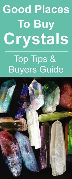 Good Places To Buy Crystals. Top Tips and Buyers Guide! #crystals #crystalhealing More