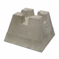 Shop Handi-Block Lightweight Concrete Deck Block at Lowe's Canada. Find our selection of concrete, cement & cinder blocks at the lowest price guaranteed with price match. Concrete Deck Piers, Concrete Deck Blocks, Concrete Cement, Concrete Projects, Bbq Shed, Deck Building Plans, Renovation Hardware, Patio Steps, Diy Deck