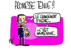 (1061_heurts_divers) Changement d'Heure, Hiver, Eté!