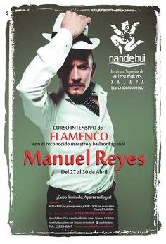 Curso intensivo de flamenco con Manuel Reyes en Xalapa