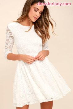00132625d5ff Little White Dresses  Perfect for Spring or Bridal Events - Pearls   Prada