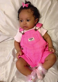 My baby had these overalls