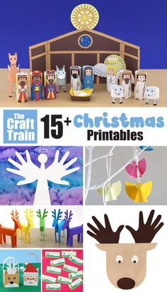Over 15 fun Christmas printables kids will love. This round up includes hilarious Christmas jokes art activities games printable paper crafts and more! Keep the kids busy creating in the busy season with fun printableChristmas activities. Popsicle Stick Christmas Crafts, Christmas Crafts For Kids To Make, Christmas Activities For Kids, Diy Christmas Gifts, Kids Christmas, Kids Crafts, Easy Crafts, Xmas, Printable Crafts