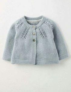 Discover thousands of images about Cosy Baby Cardigan 71528 Knitted Cardigans at BodenAdriana Piriz [ Discover thousands of images about We Like Knitting: Rosabel Cardigan - Free Pattern ] # # the Cosy Baby Cardigan now for up your little one in Baby Sweater Patterns, Baby Cardigan Knitting Pattern, Knitted Baby Cardigan, Knit Baby Sweaters, Knitted Baby Blankets, Girls Sweaters, Baby Knitting Patterns, Baby Patterns, Cardigan Sweaters