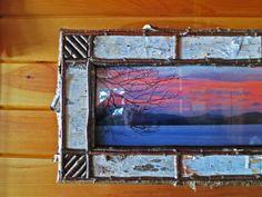 Birch Bark Frame