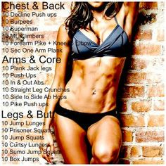 Body Equipment Free Workout