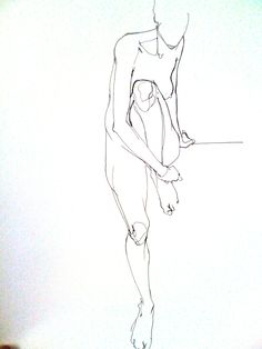 Vanessa Garwood - Nude line sketch Gesture Drawing, Life Drawing, Drawing Sketches, Painting & Drawing, Art Drawings, Drawing Artist, Figure Sketching, Figure Drawing, Art And Illustration