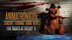 ANIMATRÓNICOS RAP | Five Nights at Freddy's | ZARCORT-KRONNO-NERY-ITOWN ...