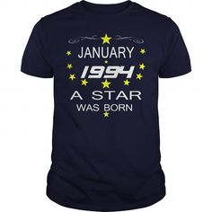 January 1994 a star  TSHIRT   star  January 1994 tshirts January 1994 tshirtHoodie Shirt VNeck Shirt Sweat a star was born  Shirt for womens and Men birthday star tshirta star was born #1994 #tshirts #birthday #gift #ideas #Popular #Everything #Videos #Shop #Animals #pets #Architecture #Art #Cars #motorcycles #Celebrities #DIY #crafts #Design #Education #Entertainment #Food #drink #Gardening #Geek #Hair #beauty #Health #fitness #History #Holidays #events #Home decor #Humor #Illustrations…