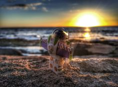 """Buzzin on the sunset"" Lego Photography, Various Artists, Sunset, Sunsets"