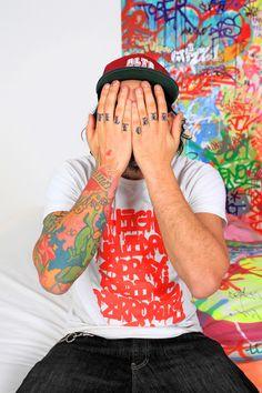 Tilt, graffiti artist, via Junk food clothing co.
